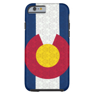 Colorado Flag Damask Pattern Vibe iPhone 6 case