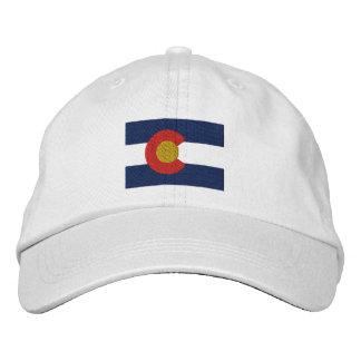 Colorado  Flag Embroidered Baseball Cap
