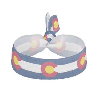 COLORADO FLAG HAIR TIE