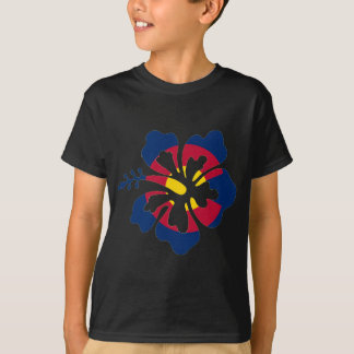 Colorado flag hibiscus flower T-Shirt