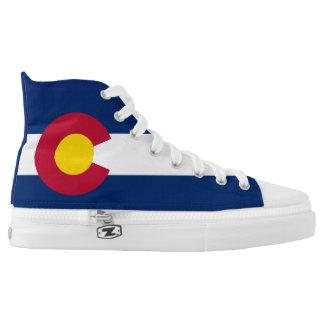 Colorado Flag High Tops