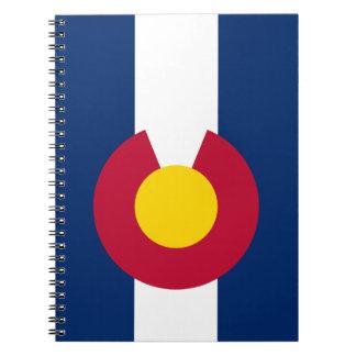 COLORADO FLAG NOTEBOOKS
