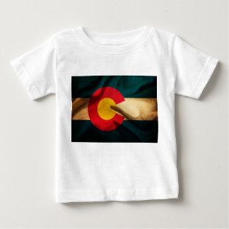 Colorado Flag Silky Baby T-Shirt