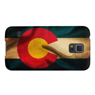 Colorado Flag Silky Galaxy S5 Cover