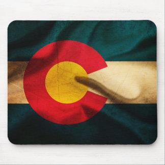 Colorado Flag Silky Mouse Pad