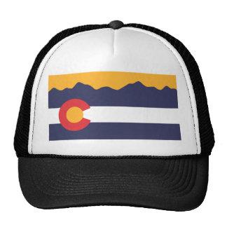 Colorado Flag Skyline Hat