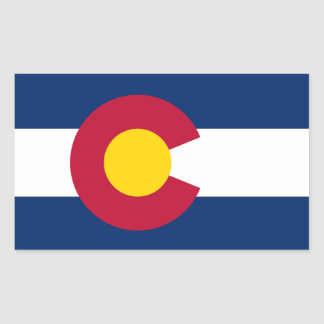 Colorado* Flag Sticker