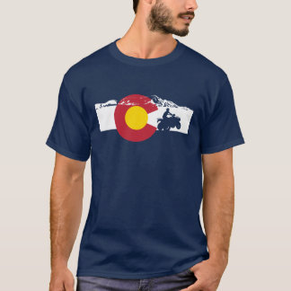Colorado Flag T-Shirt - ATV - All Terrain Vehicle