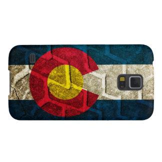 Colorado Flag Tire Tread Galaxy S5 Covers