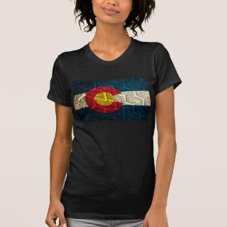 Colorado Flag Tire Tread T-Shirt