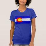 Colorado Flag - Version 2 T Shirts