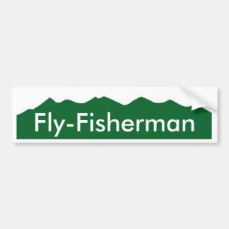 Colorado Fly-Fisherman Bumper Sticker