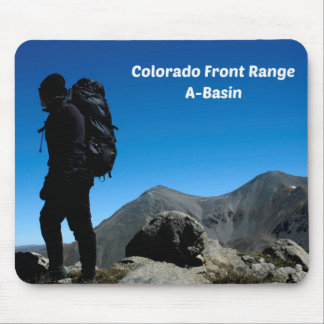 Colorado Front Range, A-Basin Mouse Pad