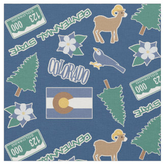 Colorado Fun Pattern Fabric
