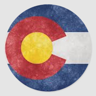 Colorado Gear Classic Round Sticker