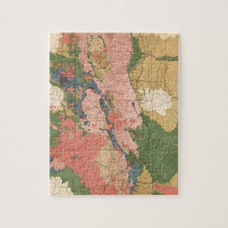 Colorado Geological Map Jigsaw Puzzle