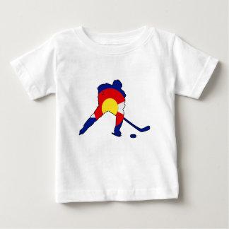 Colorado Hockey Player Baby T-Shirt