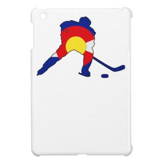 Colorado Hockey Player iPad Mini Cover