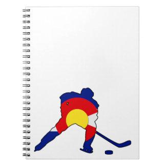Colorado Hockey Player Notebooks
