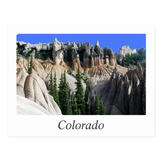 colorado hoodoos postcard