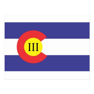 Colorado III% Postcard