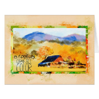 Colorado In the Fall Greeting Card