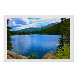 Colorado Lake Poster
