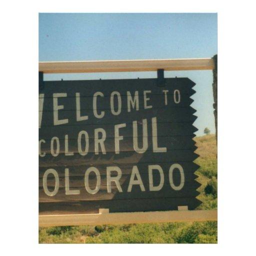 Colorado Customized Letterhead