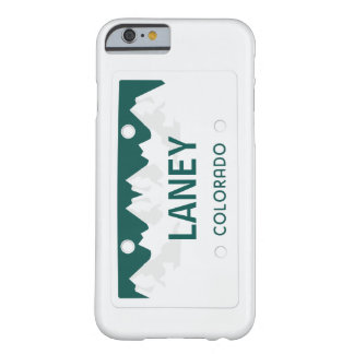 Colorado License Plate Barely There iPhone 6 Case