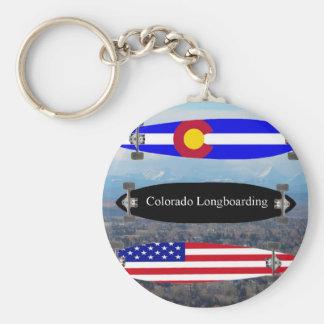 Colorado Longboarding Keychain
