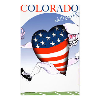colorado loud and proud, tony fernandes stationery
