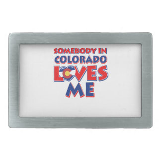colorado Love Belt Buckles