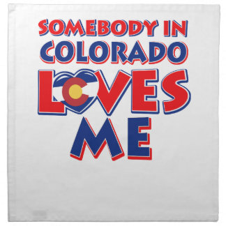 colorado Love Napkin