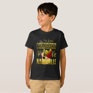 Colorado Love Nashville Kids' T-Shirt
