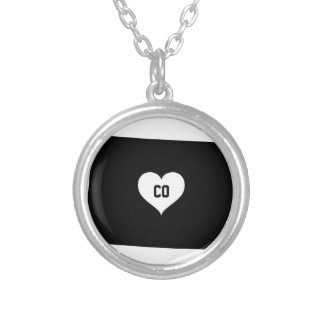 Colorado Love Silver Plated Necklace