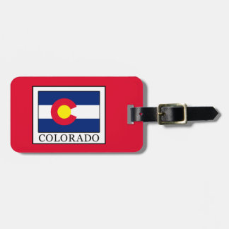 Colorado Luggage Tag