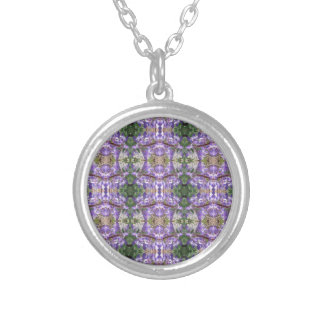 Colorado Lupin 3 Silver Plated Necklace