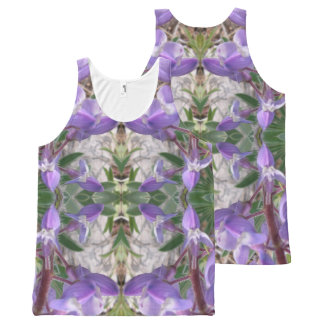 Colorado Lupin 4 All-Over-Print Tank Top