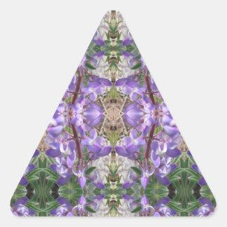 Colorado Lupin 4 Triangle Sticker