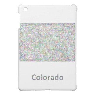 Colorado map iPad mini cover