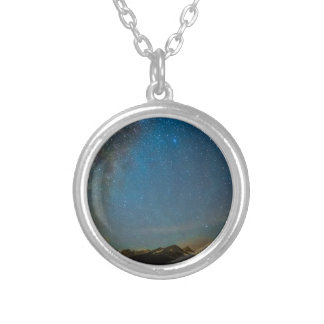 Colorado Milky Way Kinda Night Silver Plated Necklace