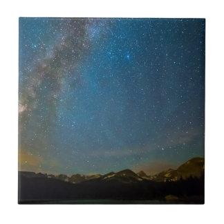 Colorado Milky Way Kinda Night Tile