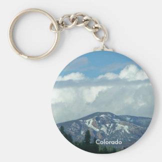 Colorado Mountain Keychain