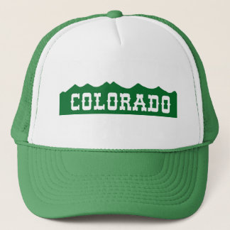 Colorado Mountain Range Hat