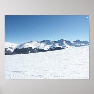 Colorado Mountain Range Poster
