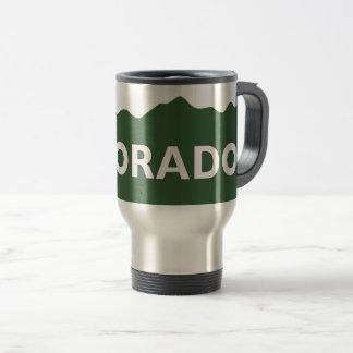 Colorado Mountain Range Travel Mug