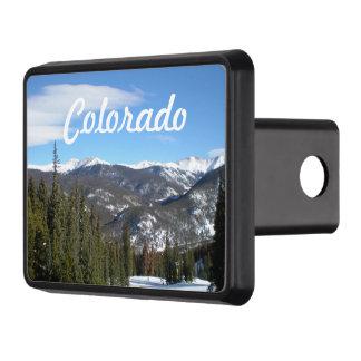 Colorado mountain scenic trailer hitch cover