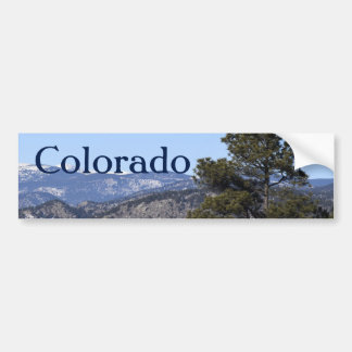 Colorado Mountains Bumper Sticker
