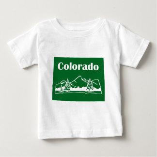 Colorado Mountains by U.S. Custom Ink Baby T-Shirt