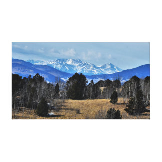 Colorado Mountains Canvas Print